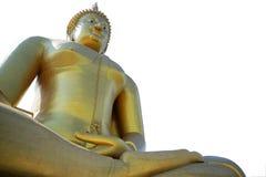 Statue de Bouddha dans Ayuttaya Thaïlande Photos libres de droits