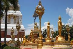 Statue de Bouddha dans le temple Photos stock