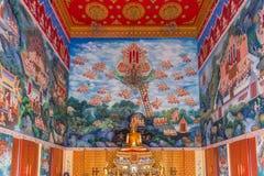 Statue de Bouddha dans le temple bouddhiste Wat Lo Sutthawat Photographie stock libre de droits