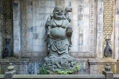 Statue de Bouddha dans le temple Chongqing de BaoLunSi Photo stock