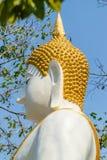 Statue de Bouddha dans le temple thaï Photographie stock