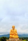 Statue de Bouddha dans le temple thaïlandais Thaïlande Photographie stock libre de droits