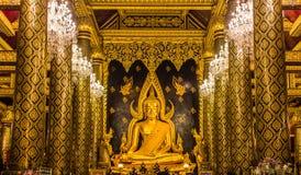 Statue de Bouddha dans Phitsanulok, Thaïlande Image libre de droits