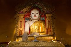 Statue de Bouddha de Birman Image stock