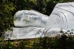 Statue de Bouddha de sommeil Photo libre de droits