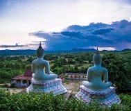 Statue de Bouddha de vue photos libres de droits