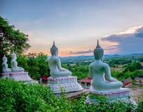 Statue de Bouddha de vue photo stock