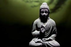 Statue de Bouddha de zen Photographie stock libre de droits