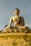 Statue de Bouddha Dordenma à Thimphou Bhutan Photo libre de droits