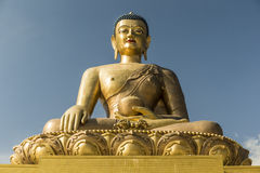 Statue de Bouddha Dordenma à Thimphou Bhutan Photographie stock