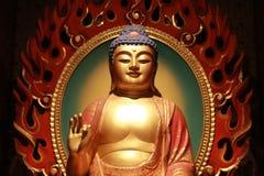 Statue de Bouddha en temple et musée de relique de dent de Bouddha Photos libres de droits