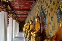 Statue de Bouddha en Thaïlande Photos stock