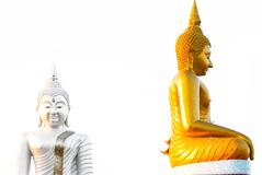 Statue de Bouddha goldtone photo stock