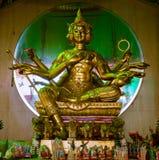 Statue de Brahma en Thaïlande Images stock