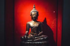 Statue de Bronse Bouddha photo libre de droits