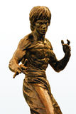 Statue de bronze de Bruce Lee photographie stock