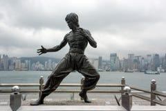 Statue de Bruce Lee photos stock
