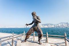 Statue de Bruce Lee photographie stock
