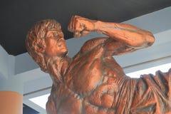 Statue de Bruce Lee chez Hong Kong Heritage Museum photo stock