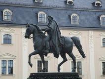 Statue de Carl August images libres de droits