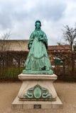 Statue de Caroline Amalie d'Augustenburg photos libres de droits