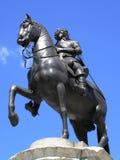 Statue de cavalier de Charles I Photos stock