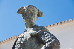 Statue de Cayetana Ordonez, Ronda, Espagne Photo stock
