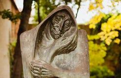 Statue de Celestina, personnalité de la littérature Photos libres de droits
