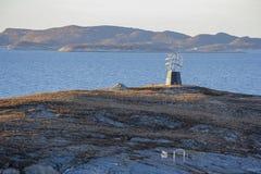 Statue de cercle arctique Images libres de droits