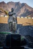 Statue de Cesaria Evora Photos libres de droits
