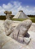 Statue de Chak Mul Image libre de droits