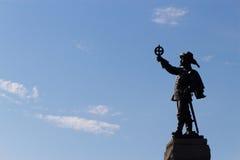 Statue de Champlain photo libre de droits
