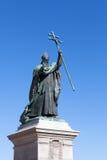 Statue de Charles Martial Lavigerie à Bayonne, France Photographie stock