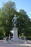 Statue de ` de Charles XII Suède de ` photos stock