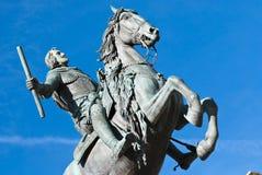 Statue de cheval photo stock