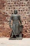 Statue de chevalier photographie stock libre de droits