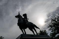Statue de chevalier Image libre de droits