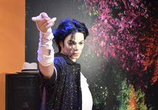 Statue de cire de Michael Jackson Image stock