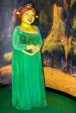 Statue de cire de princesse Fiona, Amsterdam de Madame Tussaud's photographie stock