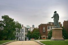 Statue de colonel Prescott images libres de droits
