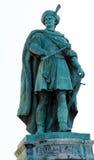 Statue de compte Imre Thokoly de Kesmark à Budapest, Hongrie photo libre de droits