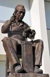 Statue de cordonnier de Leon Guanajuato photographie stock libre de droits