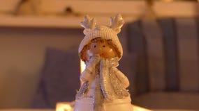 Statue de détail d'un elfe de Noël Image libre de droits