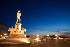 Statue de David Photos libres de droits