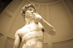Statue de David Image libre de droits