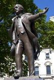 Statue de David Lloyd George à Londres photographie stock