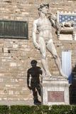 Statue de David par Michaël Angelo photographie stock libre de droits