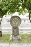 Statue de Dhammajak Image libre de droits