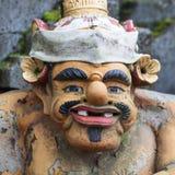Statue de Dieu de Balinese dans le temple central de Bali Photographie stock libre de droits