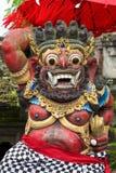 Statue de Dieu de Balinese dans le temple central de Bali Image libre de droits